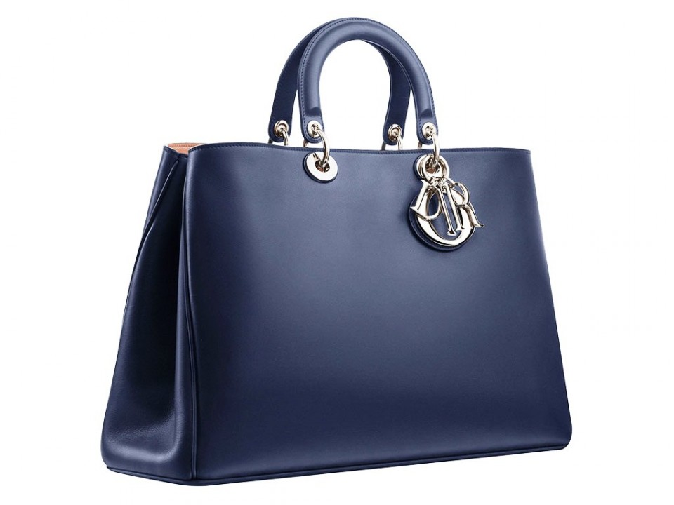 Dior-Addict-Black-Shopping-Bag